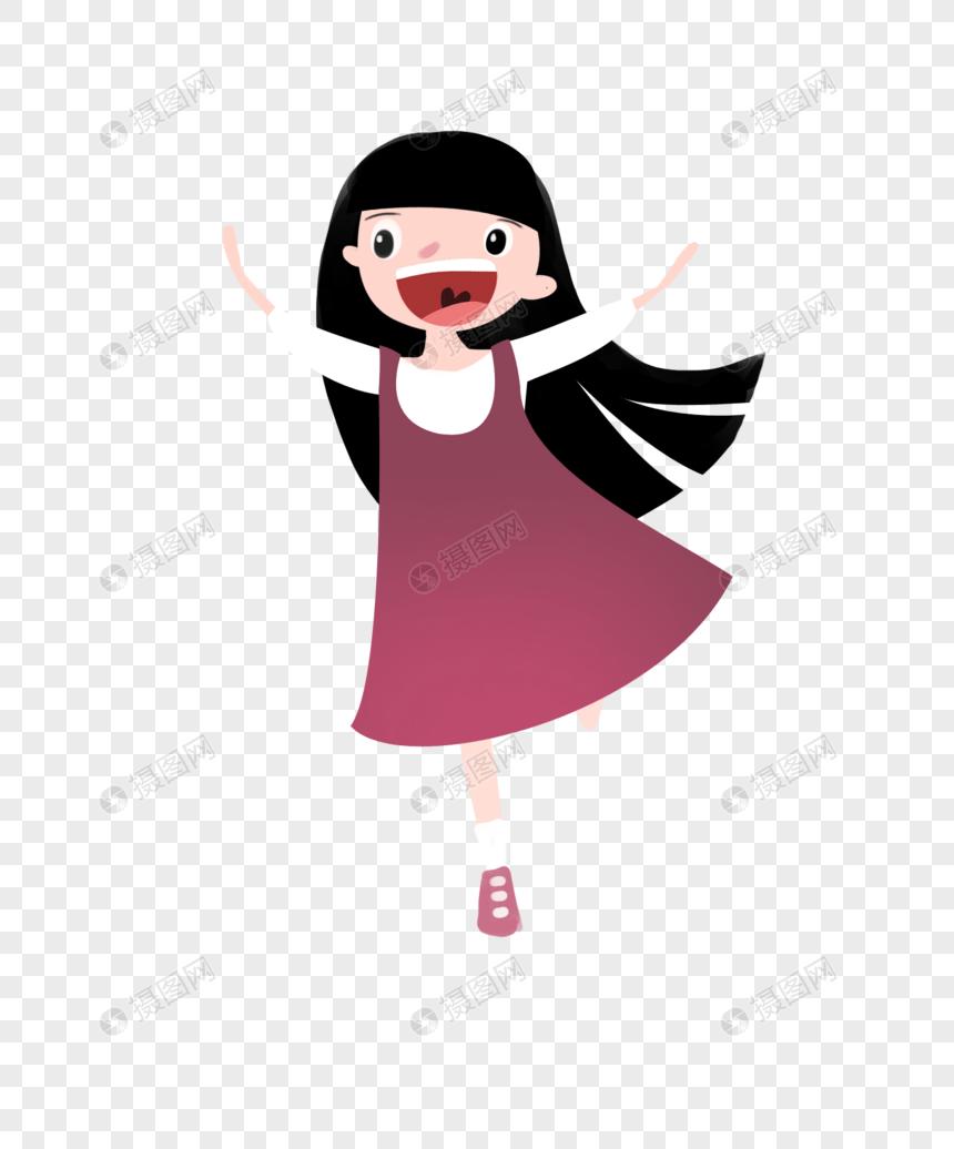 Animasi Anak Perempuan : animasi, perempuan, Cartoon, Image_picture, Download, 400645783_lovepik.com