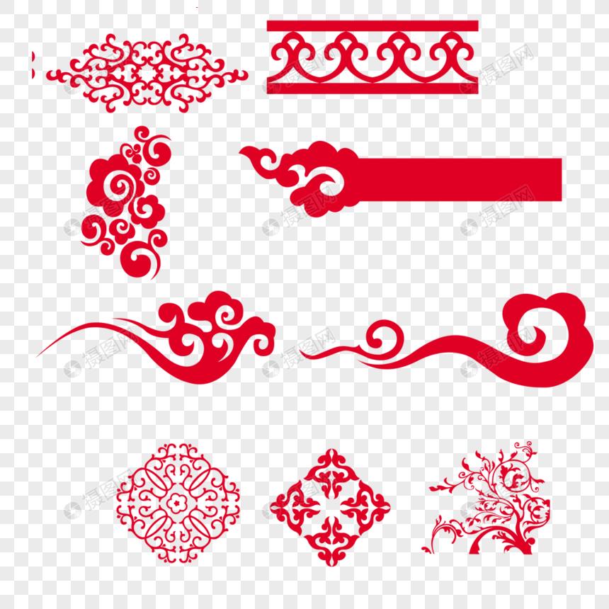 中國風花紋圖片素材-PNG圖片尺寸1000 × 1000px-高清圖片400670420-zh.lovepik.com