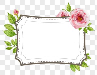 flower border labels images