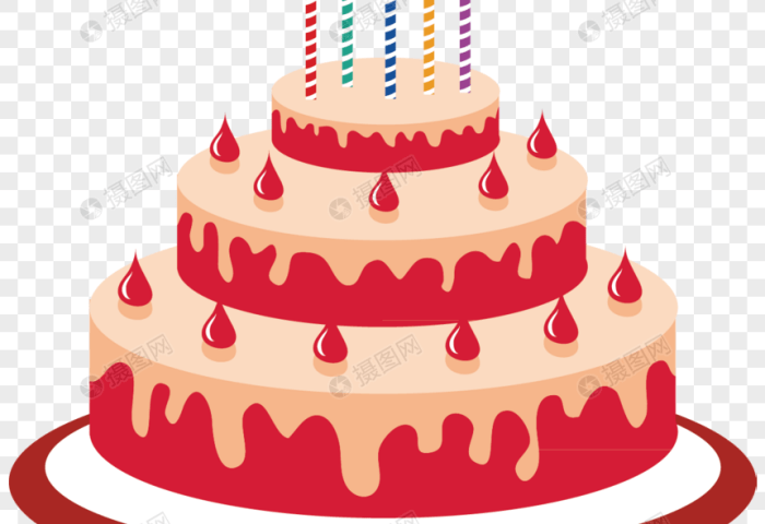 Cartoon Birthday Cake Png Imagepicture Free Download