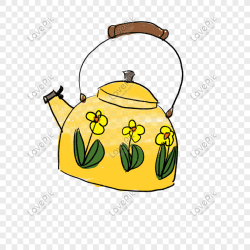 Boiling Kettle Clipart