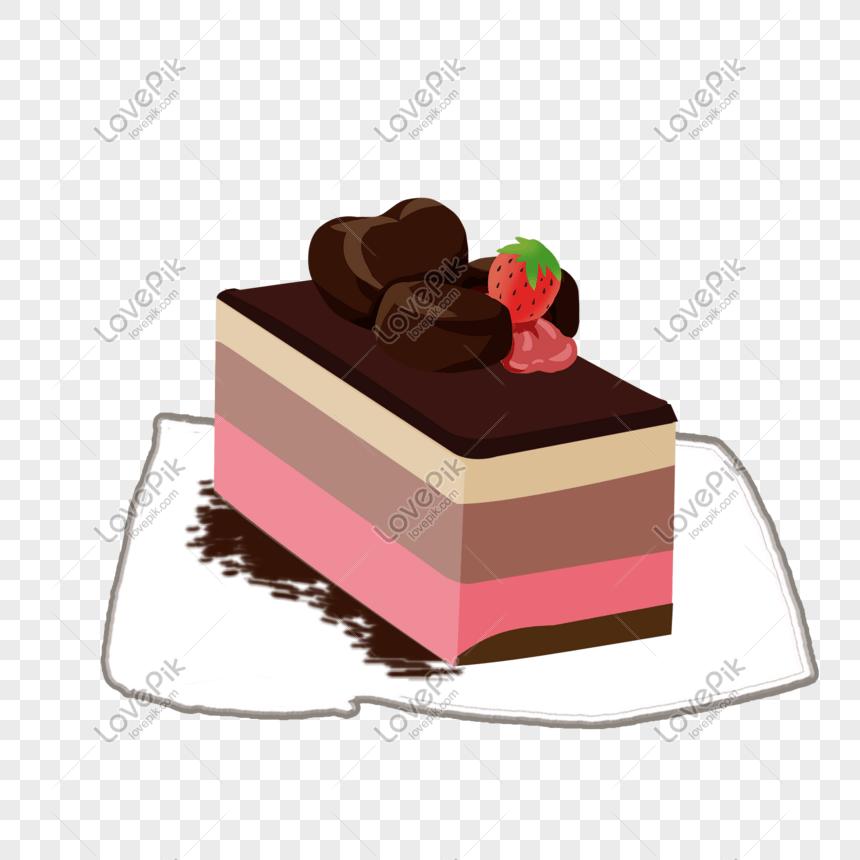 手繪巧克力蛋糕PSD圖案素材免費下載 - 尺寸1500 × 1500px - 圖形ID401264841 - Lovepik