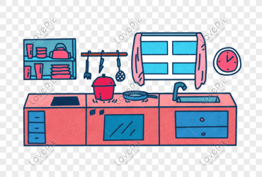 Cartoon kitchen png image picture free download 401360612 lovepik com