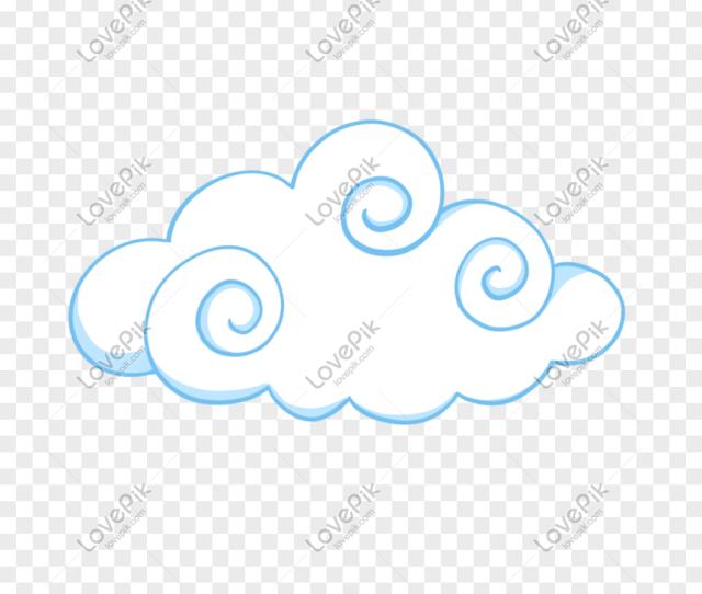 Kartun Awan Putih Gambar Unduh Gratis_ Grafik _format