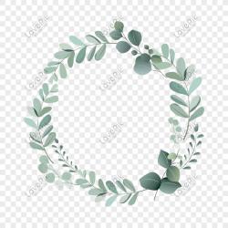 Round leaf border png image picture free download 401459953 lovepik com