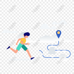 Man running icon free vector illustration material png image picture free download 401472413 lovepik com