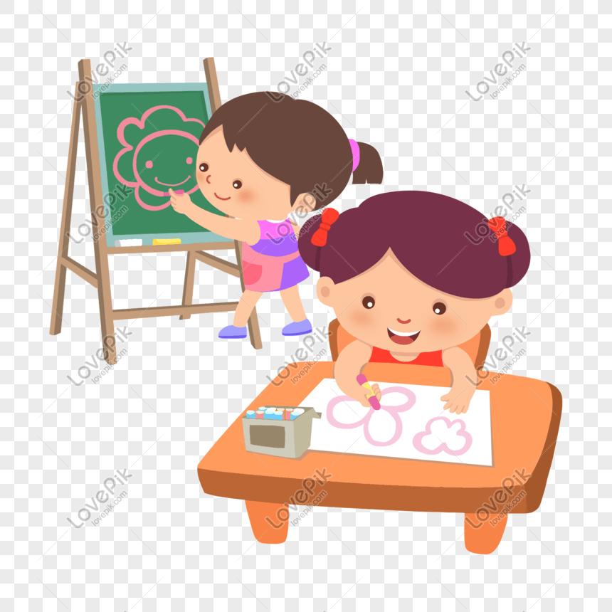 幼兒美術興趣班PSD圖案素材免費下載 - 尺寸2000 × 2000px - 圖形ID401526873 - Lovepik
