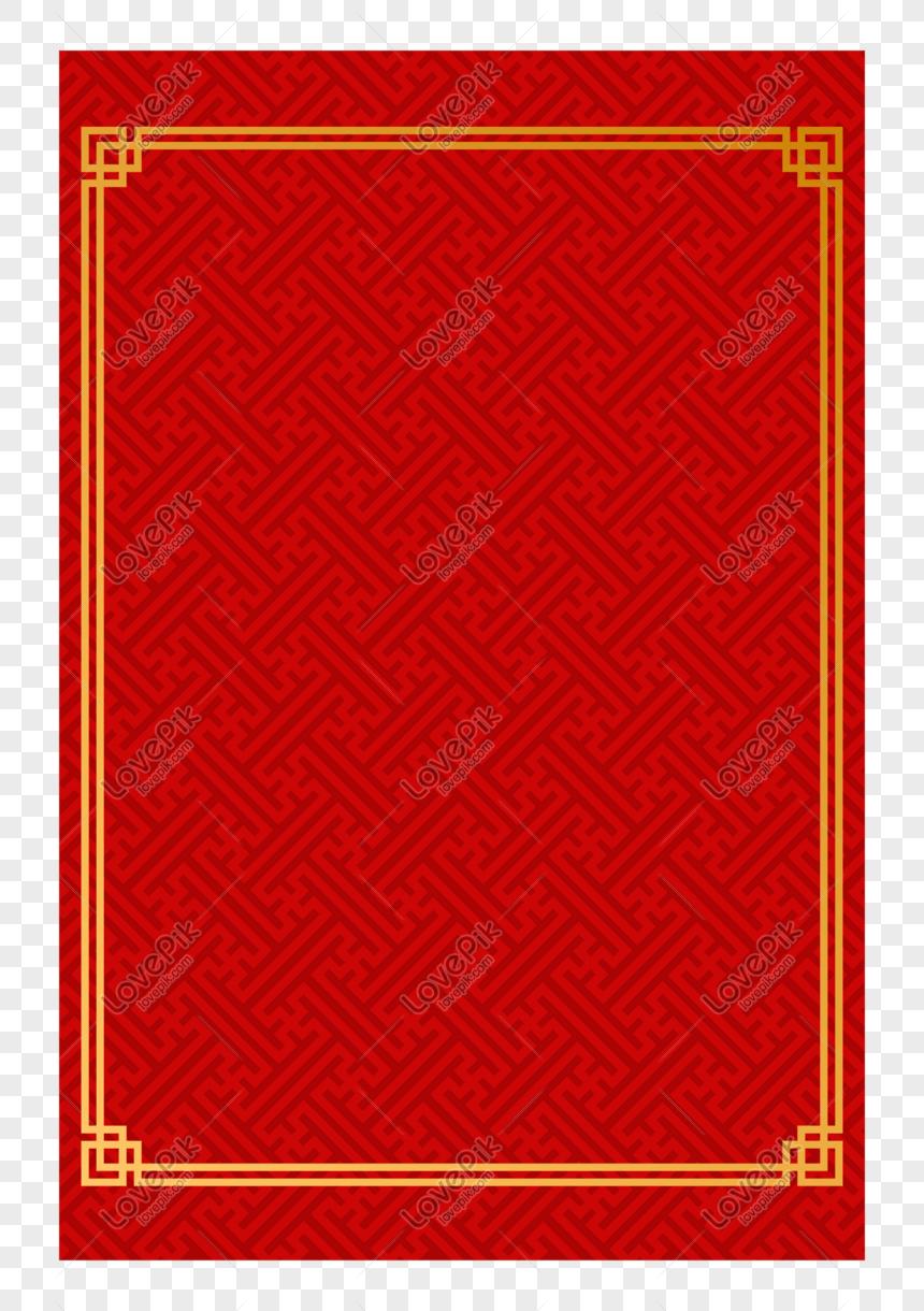 affiche rouge nouvel an invitation