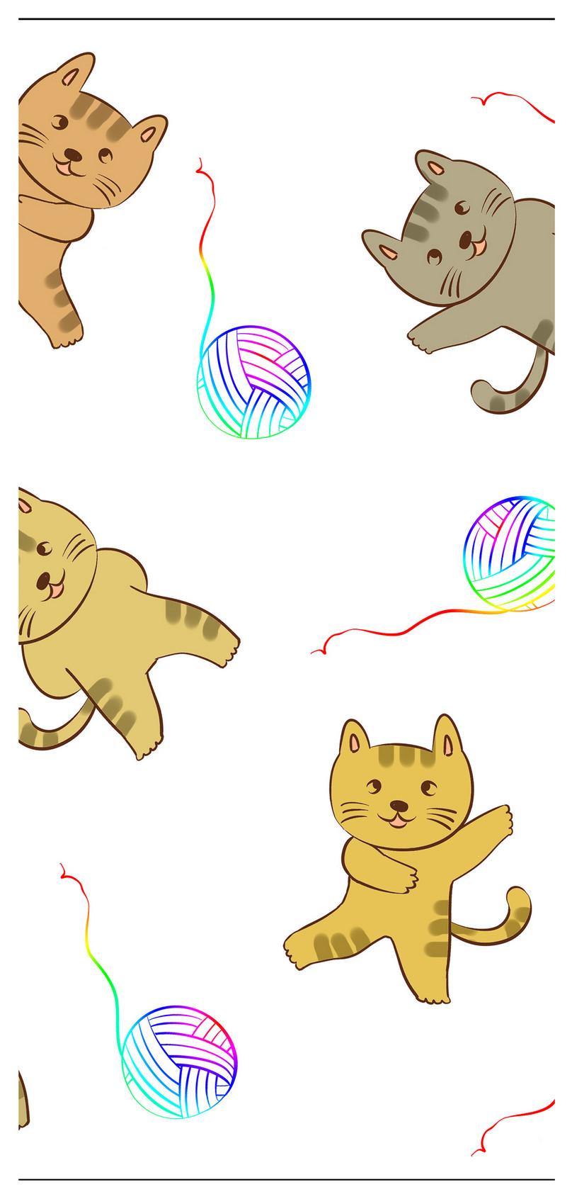 Gambar Kucing Lucu Kartun : gambar, kucing, kartun, Gambar, Kucing, Comel, Cartoon, 81021+, Untuk, Comel,