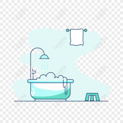Free Bathroom Cartoon Hand Drawn Vector PNG & AI image download size 2000 × 2000 px ID 828798427 Lovepik