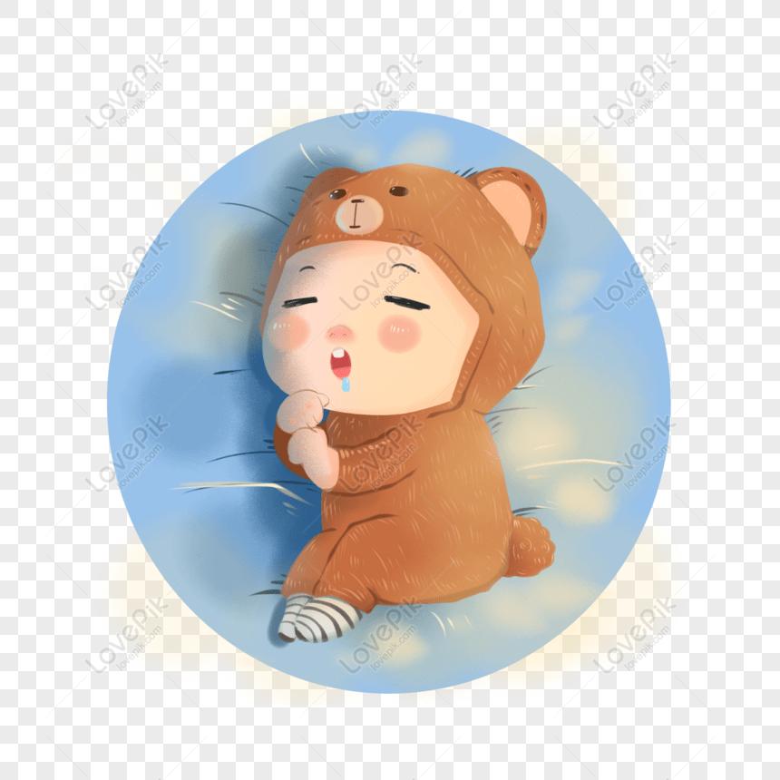 免費可愛嬰兒小baby熟睡可愛PNG & PSD圖案下載_素材編號832335841 - Lovepik