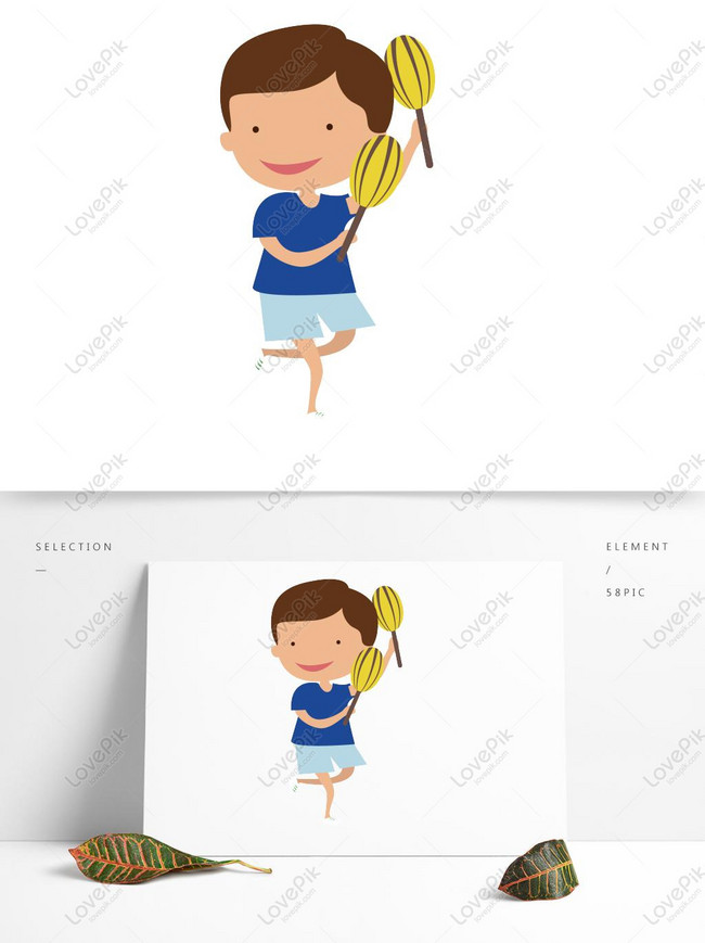 Gambar Kartun Anak Menari : gambar, kartun, menari, Elemen, Menari, Gambar, Unduh, Gratis_, Grafik, 728777559_Format, EPS_lovepik.com