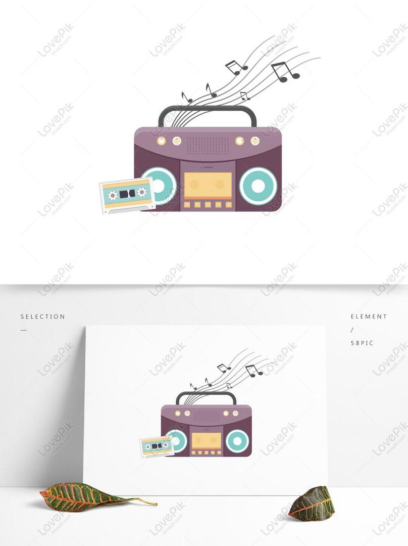 ✓ Contoh Gambar Radio Kartun