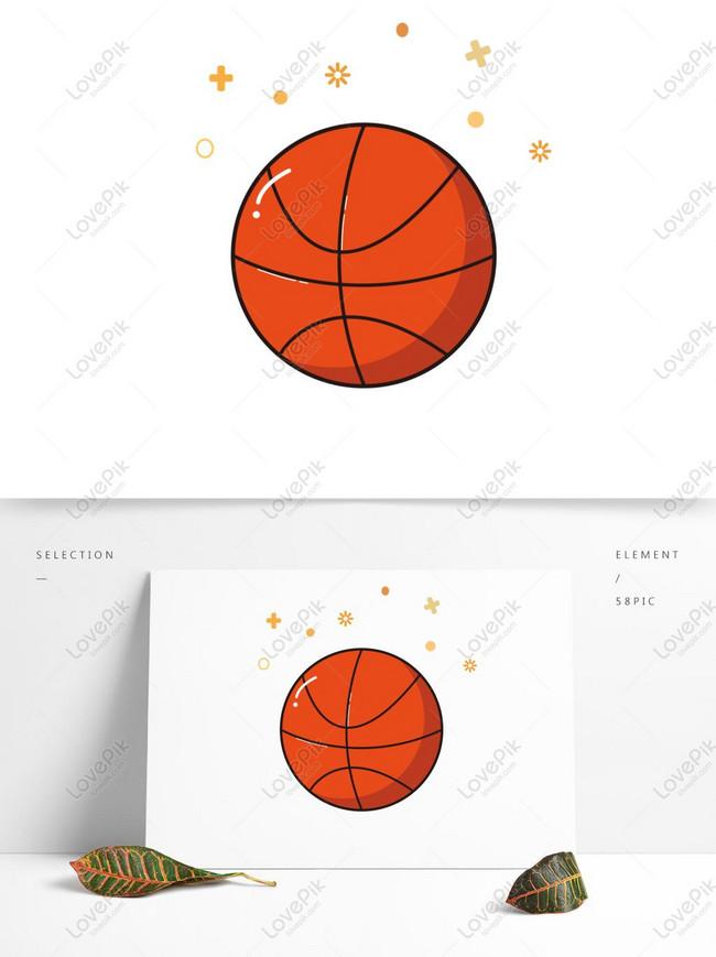 Gambar Kartun Bola Basket : gambar, kartun, basket, Basket, Kartun, Gambar, Unduh, Gratis_, Grafik, 732814172_Format, AI_lovepik.com