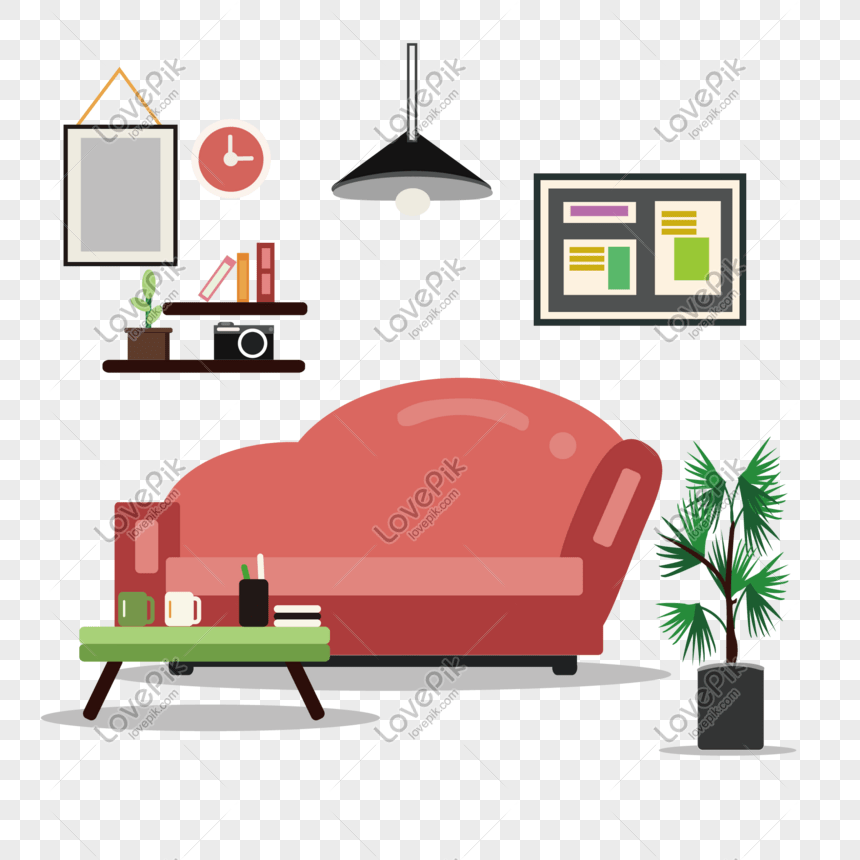 Sofa Chair Bedroom Vector Illustration Png Image Picture Free Download 649833989 Lovepik Com