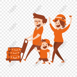 Cartoon family shopping vector material png image picture free download 610330825 lovepik com