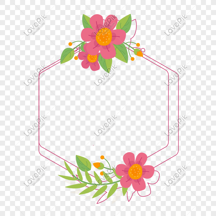 Hand Drawn Border Vector Floral Border Png Image Picture Free Download 610355002 Lovepik Com