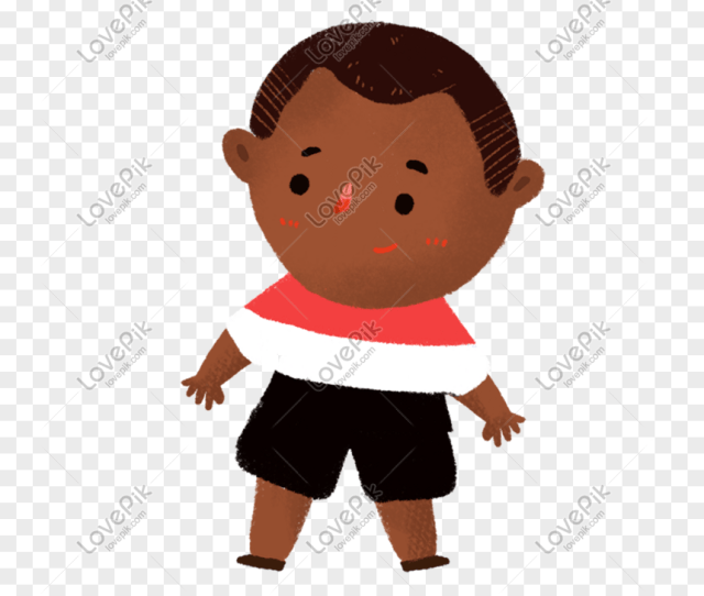 Hand Drawn Cartoon Cute Little Boy Png Image_picture Free Download