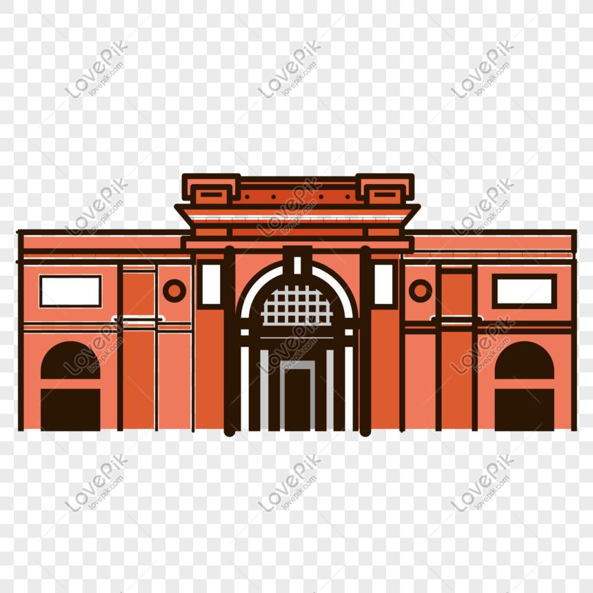 mbe風格建築博物館PSD圖案素材免費下載 - 尺寸2000 × 2000px - 圖形ID611212816 - Lovepik