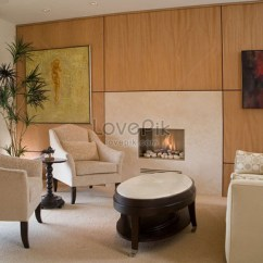 Living Room La Jolla Red And Cream Curtains Apartment Decoration Images Picture