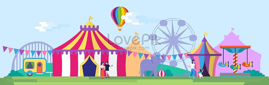 歡樂遊樂園圖片素材-AI圖片尺寸9530 × 3000px-高清圖片400105813-zh.lovepik.com