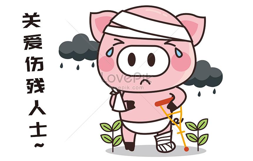 豬小胖卡通形象配圖圖片素材-EPS圖片尺寸4700 × 3000px-高清圖片400273476-zh.lovepik.com
