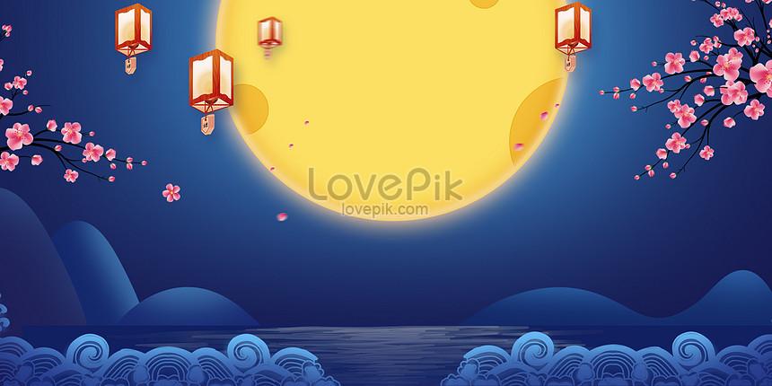 中秋背景圖片素材-PSD圖片尺寸4000 × 2000px-高清圖片400488499-zh.lovepik.com