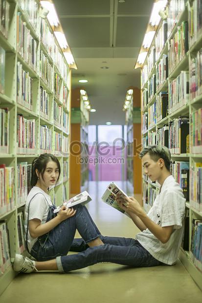 Gambar Perpustakaan Sekolah : gambar, perpustakaan, sekolah, Pelajar, Perpustakaan, Sekolah, Sedang, Mengkaji, Maklumat, Gambar, Unduh, Gratis_imej, 500538496_Format, JPG_my.lovepik.com
