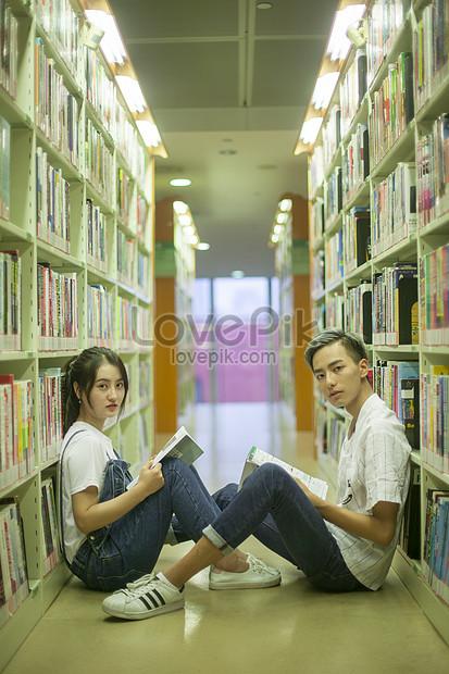 Gambar Perpustakaan Sekolah : gambar, perpustakaan, sekolah, Pelajar, Perpustakaan, Sekolah, Sedang, Mengkaji, Maklumat, Gambar, Unduh, Gratis_imej, 500538498_Format, JPG_my.lovepik.com
