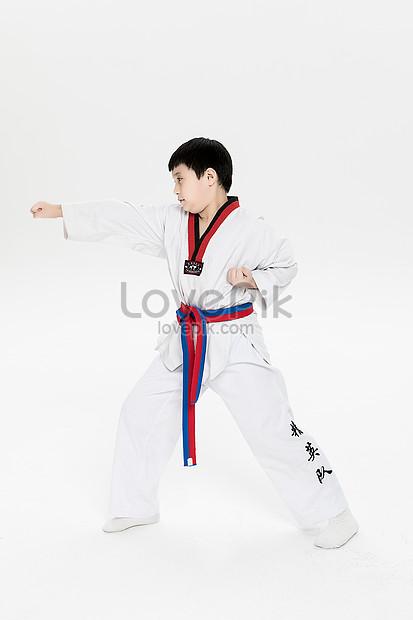 Gambar Karate Do : gambar, karate, Playing, Photo, Image_picture, Download, 501081241_lovepik.com