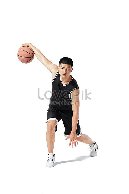 Gambar Dribbling Bola Basket : gambar, dribbling, basket, Pemain, Basket, Menggiring, Gambar, Unduh, Gratis_, 501297102_Format, JPG_lovepik.com