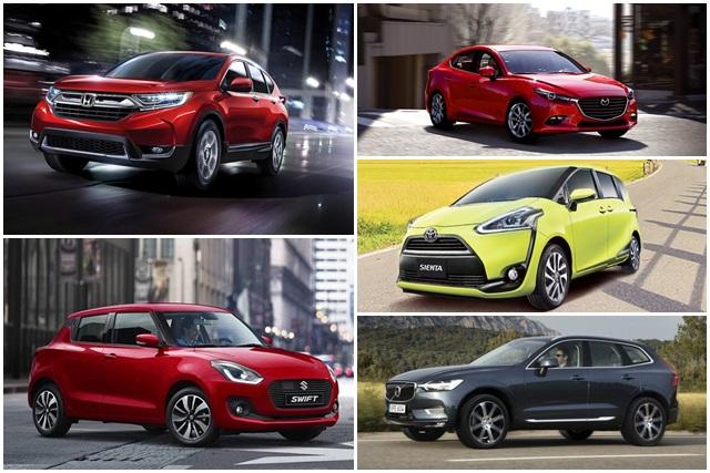 2018 年 2 月臺灣汽車銷售排行出爐。Mazda 重回進口車銷售龍頭! - 自由電子報汽車頻道