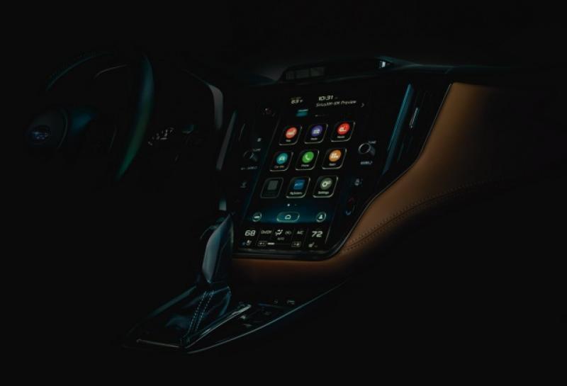 臺灣確定不引進嗎?Subaru 新一代 Legacy 內裝科技感爆表! - 自由電子報汽車頻道