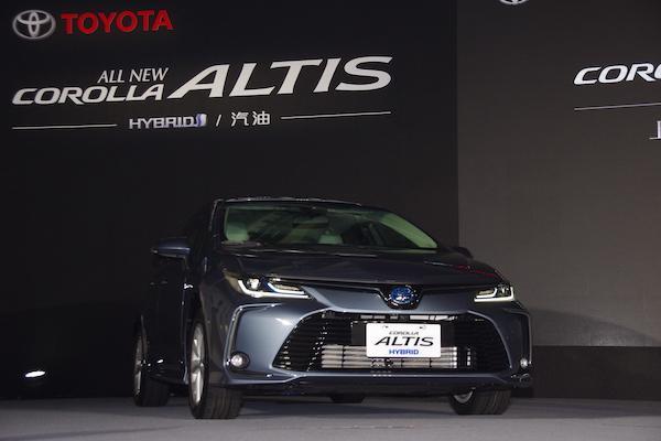 Toyota Altis 大改款正式售價公布!油電價格大家都猜錯了 - 自由電子報汽車頻道