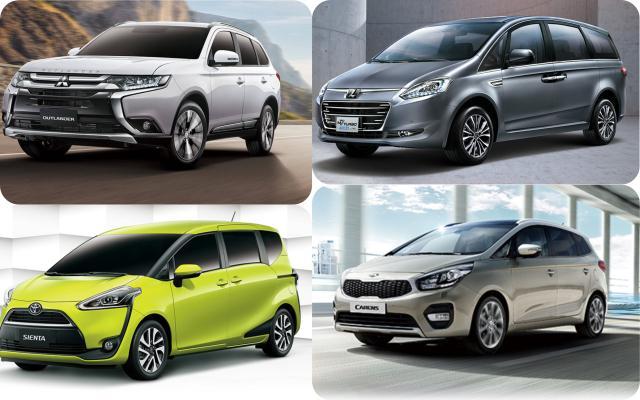 想買 100 萬以內 7 人座車款?5 款選擇只有一款是 SUV - 自由電子報汽車頻道
