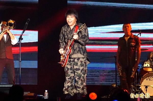 臺灣限定「透南風」演唱會 伍佰一路向北吹 - 自由娛樂