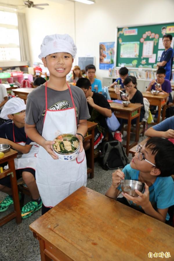 高市學校營養午餐推「4章1Q」 9月1日上路 - 生活 - 自由時報電子報