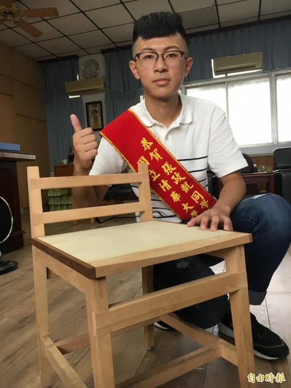 來自中醫世家 他愛上木藝拚上清大 - 生活 - 自由時報電子報