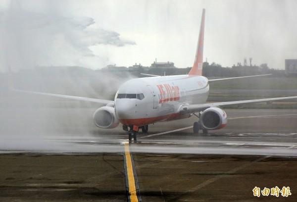 濟州航空臺北往返務安定期航班 今天正式開航 - 生活 - 自由時報電子報