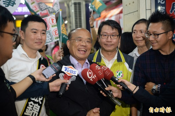 副市長收賄判刑 蘇貞昌:侯友宜出來辯論說清楚 - 政治 - 自由時報電子報