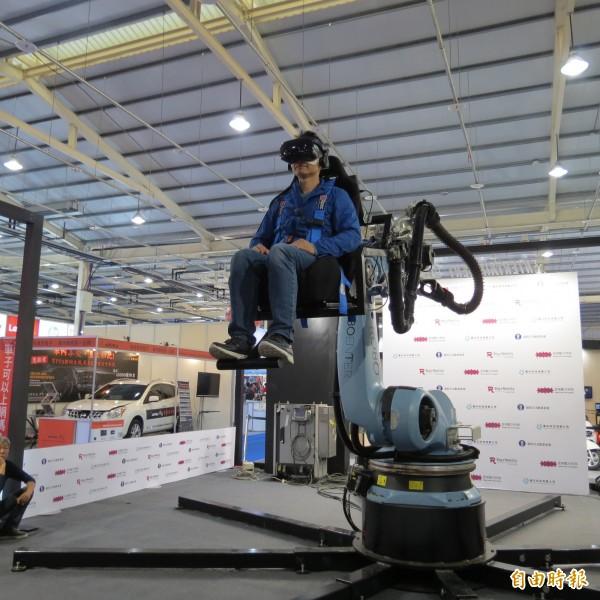 資訊月臺中展今開幕 「機械手臂VR體感模擬器」最吸睛 - 臺中市 - 自由時報電子報