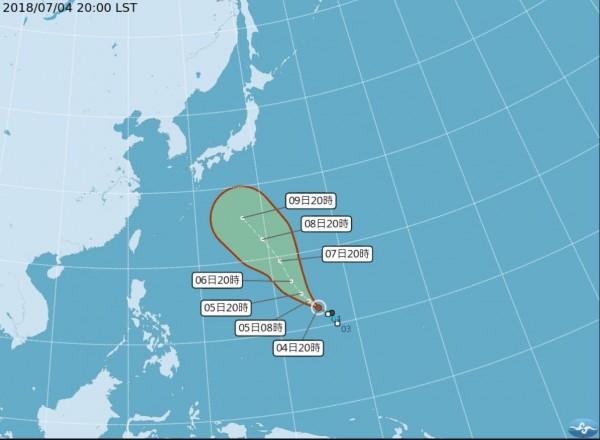 瑪莉亞颱風今晚形成 氣象專家:離臺灣尚遠無須過早擔憂 - 生活 - 自由時報電子報
