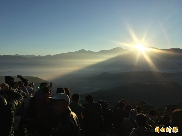 跨年送夕陽迎曙光 1張圖讓你秒懂全國日出日沒時間點 - 生活 - 自由時報電子報