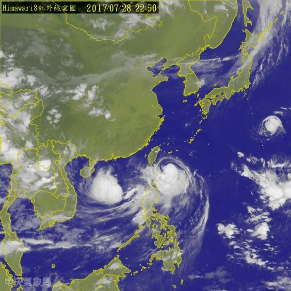 中國搶先發布10號颱風「海棠」 彭啟明覺得有趣 - 生活 - 自由時報電子報