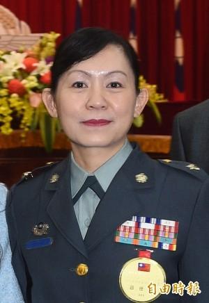 將官晉升 陳育琳晉任馬政府首位女將軍 - 政治 - 自由時報電子報