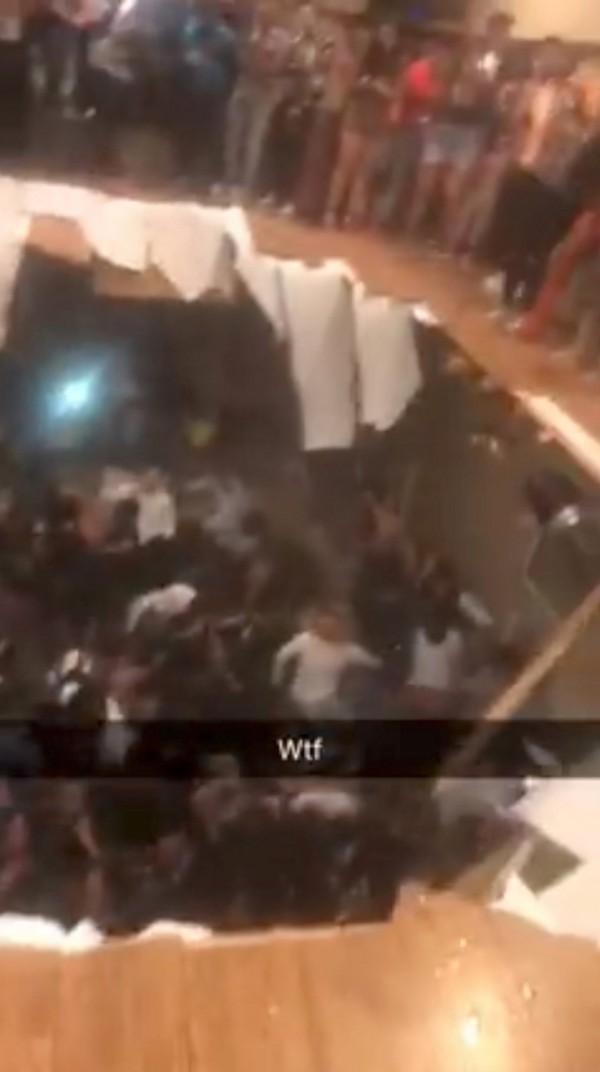 人群瞬間掉下去!美大學狂歡派對 踩破地板墜地釀30傷 - 國際 - 自由時報電子報