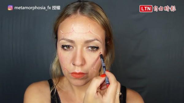還在煩惱萬聖節該怎麼打扮? 美女化妝師示範超獵奇妝容 - 自由電子報影音頻道