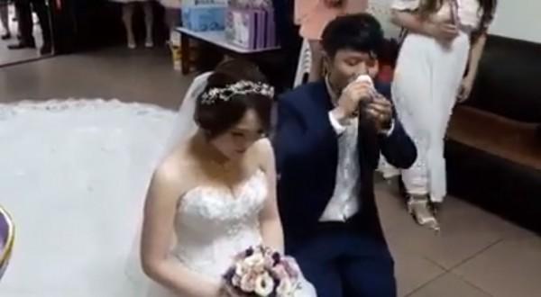 結婚「奉茶」當敬酒一口乾了...網友笑:「下次」改進 - 生活 - 自由時報電子報