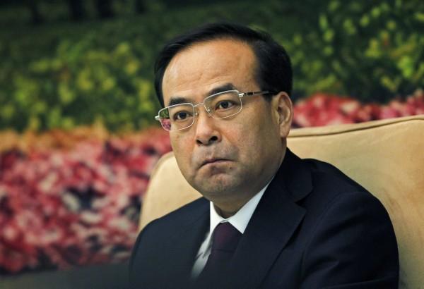 中共前重慶市委書記孫政才。(歐新社資料照)