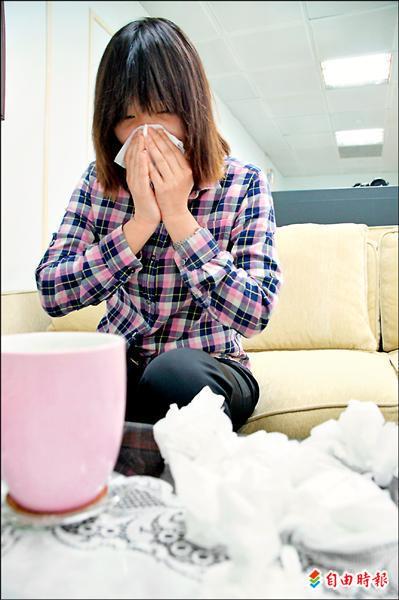 天冷 小心急性鼻竇炎 - - 自由時報電子報